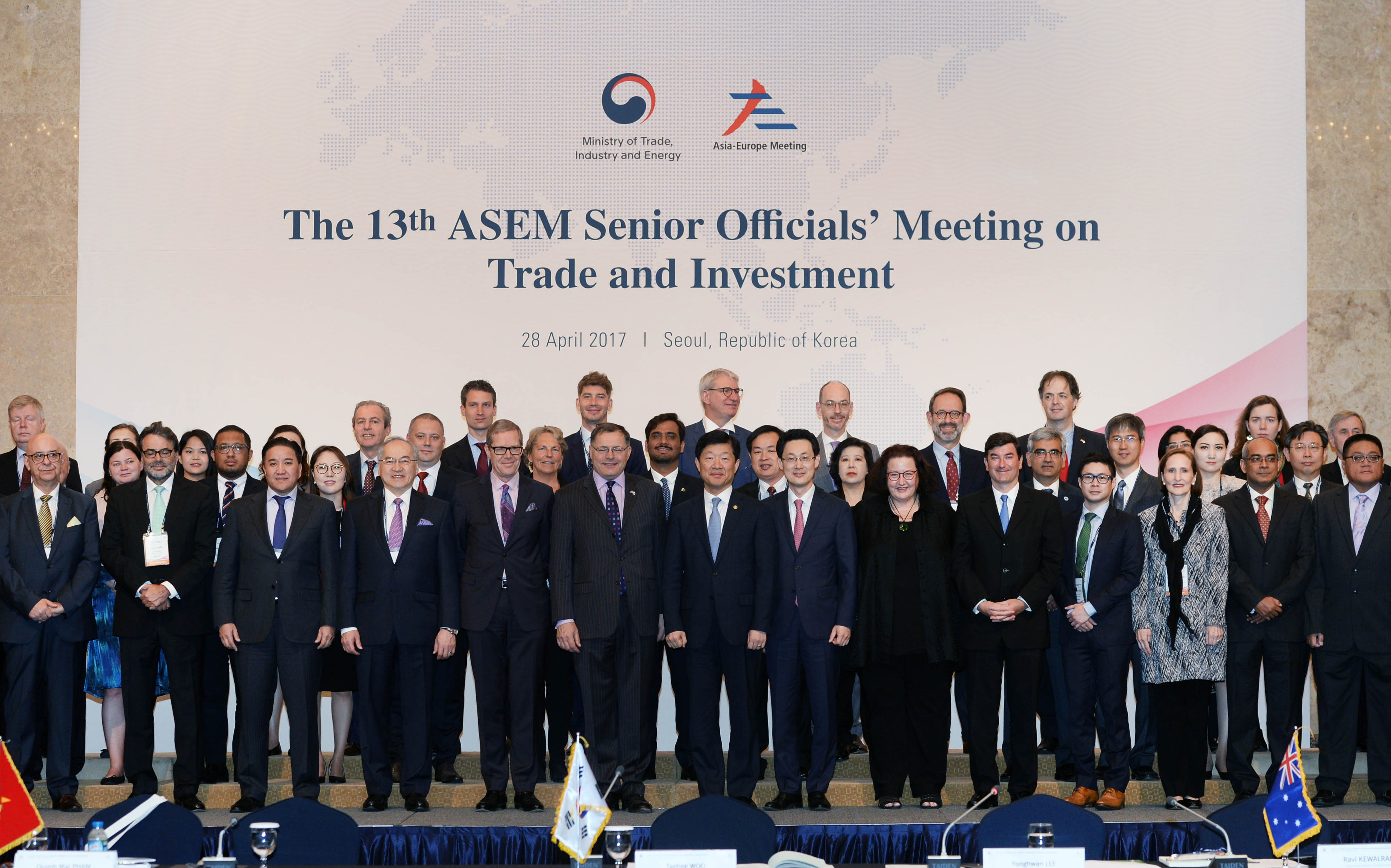 Ministry hosts 13th ASEM Senior Officials' Meeting on Trade and Investment in Seoul