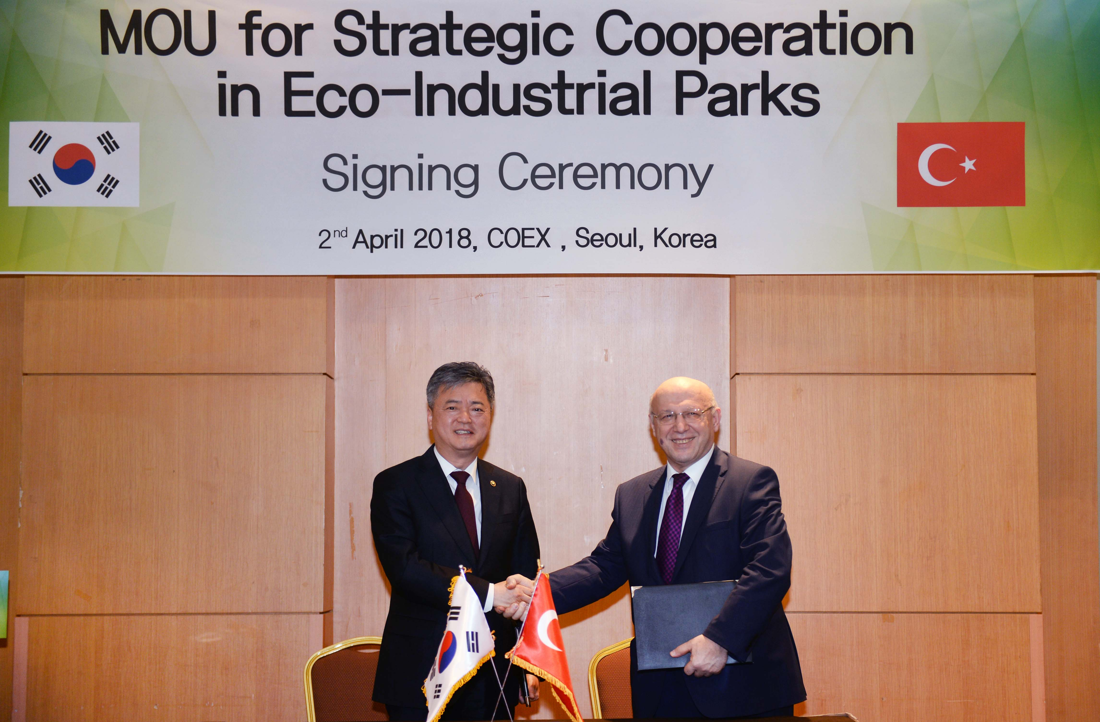 Korea, Turkey to cooperate on eco-industrial parks