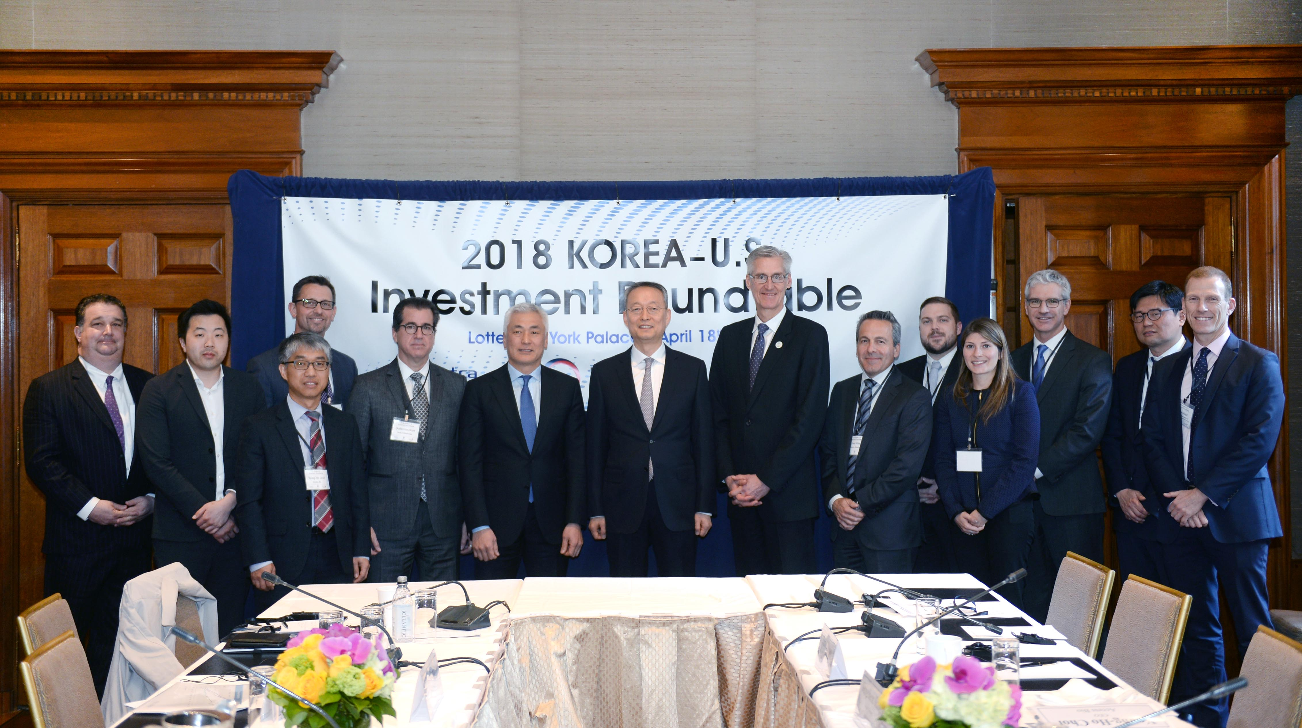 Minister Paik presides over investment roundtable in New York Image 0