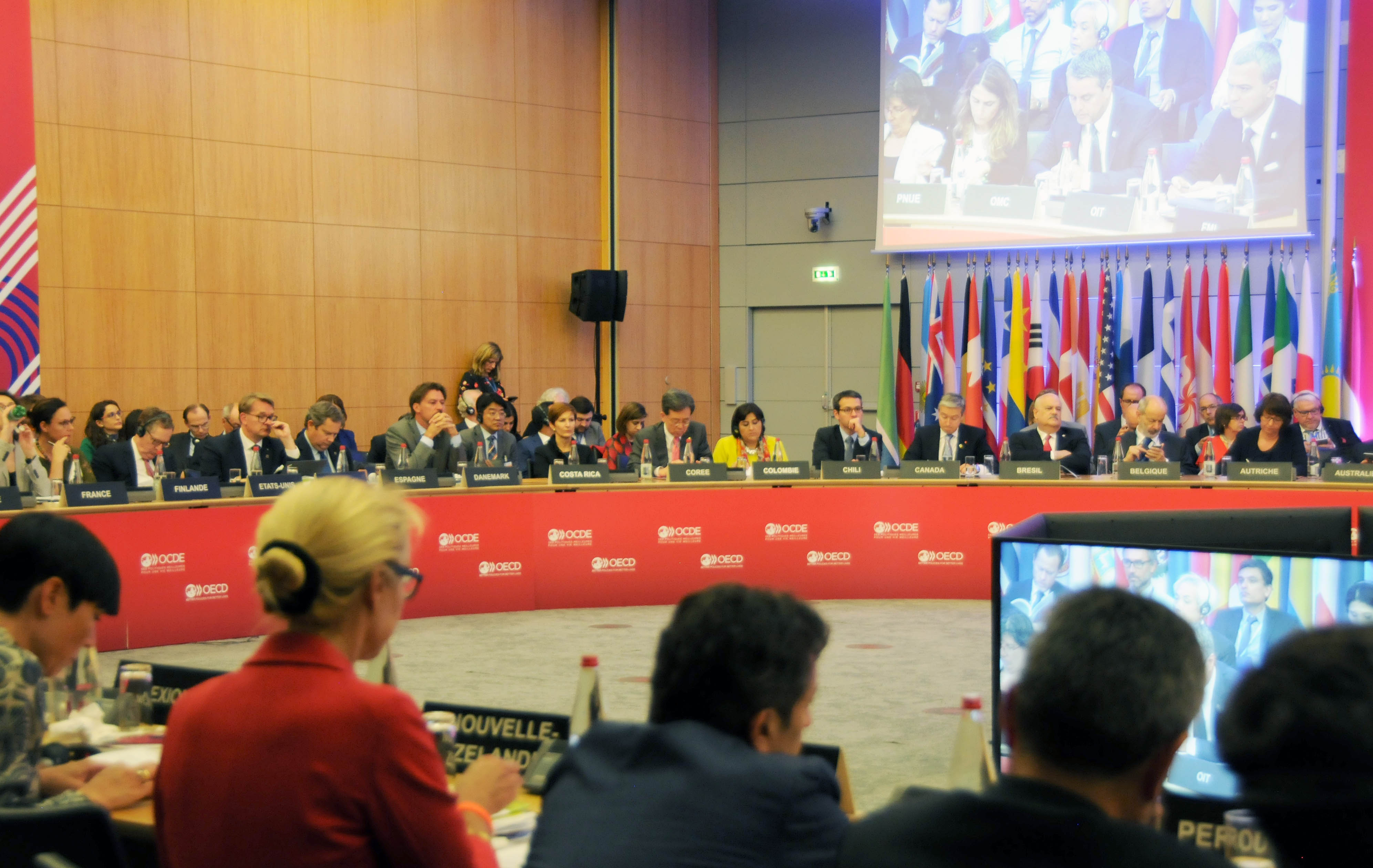 Trade Minister attends OECD Ministerial Council Meeting Image 0