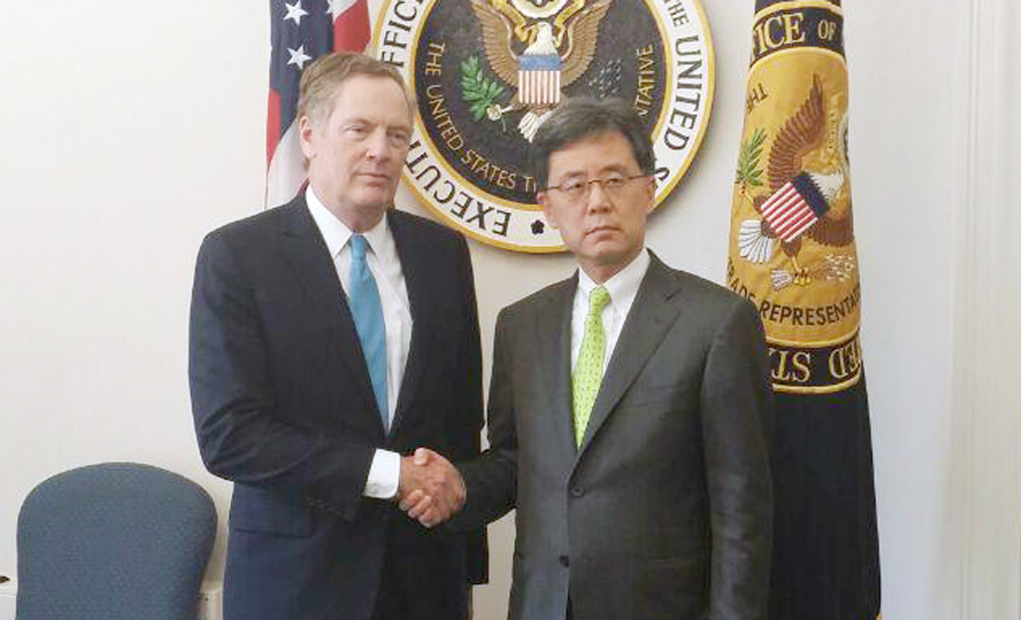 Trade Minister meets US chief trade negotiator  Image 0