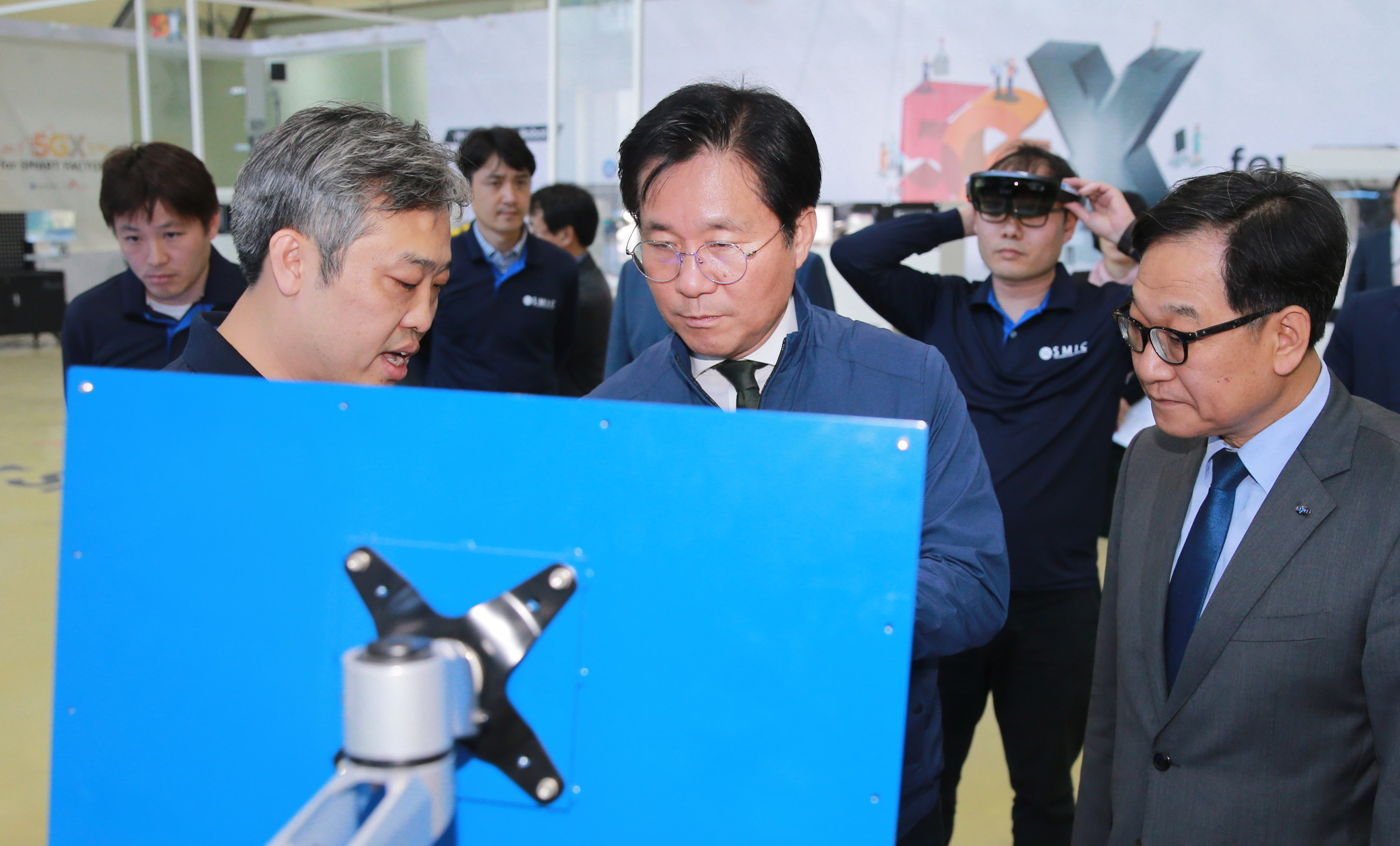 Minister Sung visits Smart Manufacturing Innovation Center in Ansan Image 0