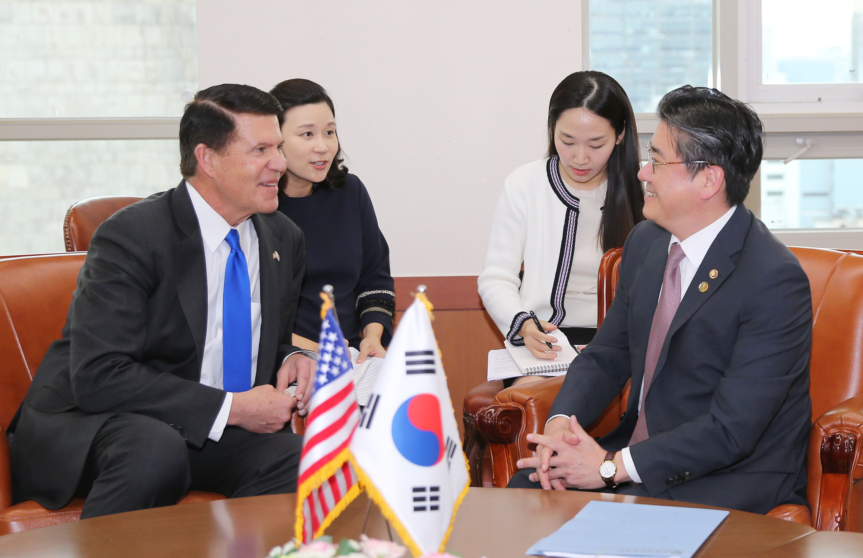 Vice Minister Cheong meets with US Under Secretary of State
