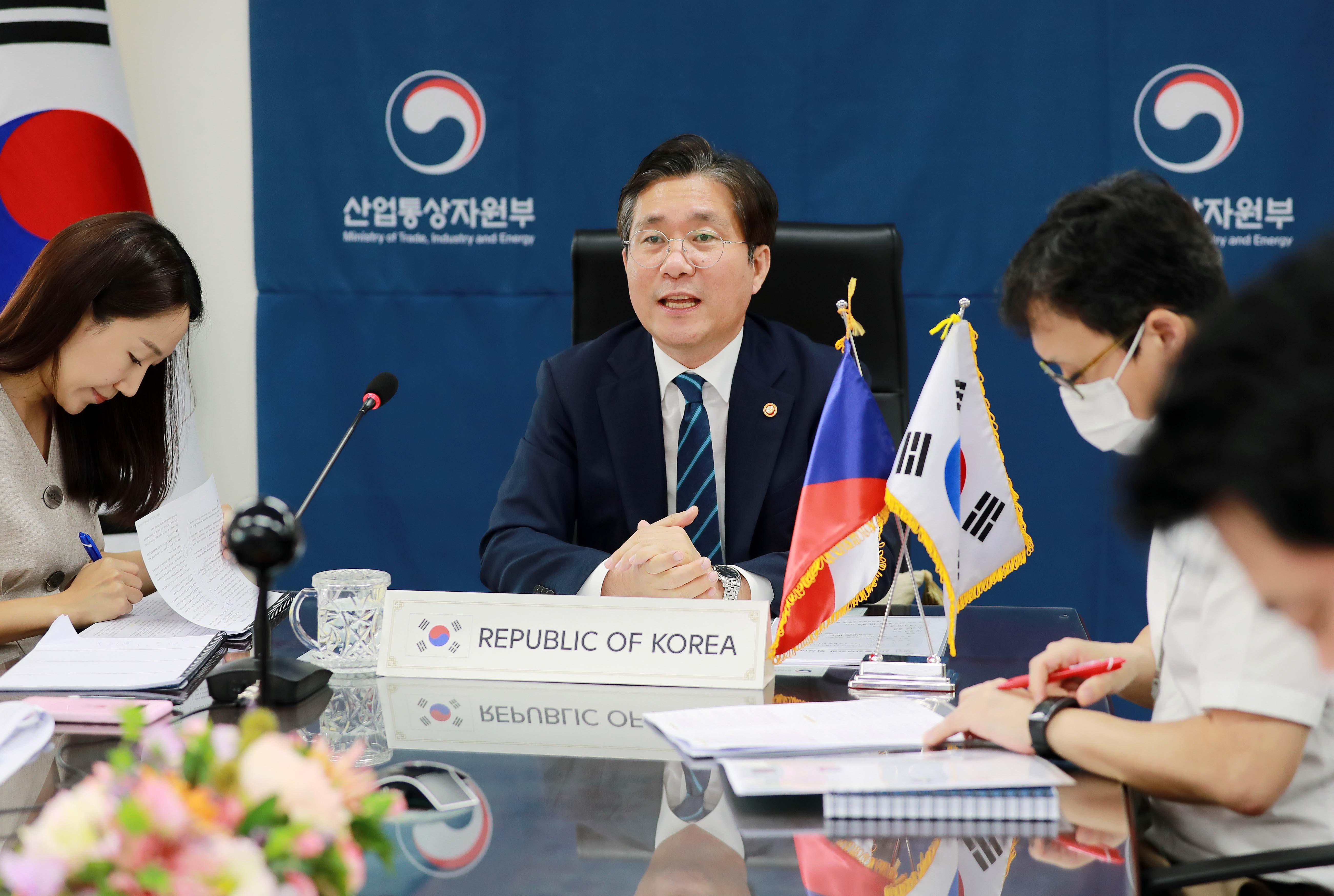 Korea expresses willingness to join Czech nuclear project Image 0