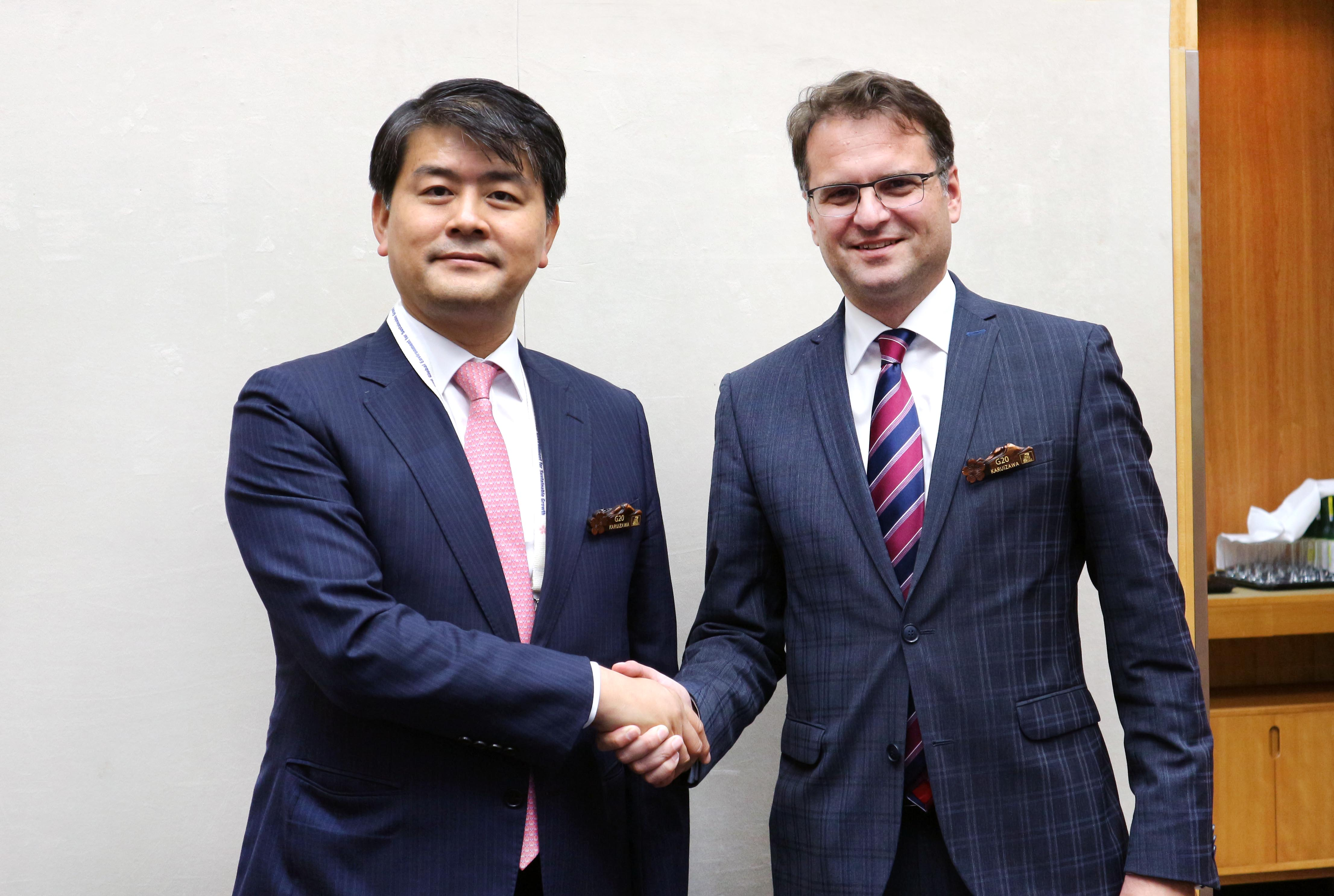 Deputy Minister Joo meets with Germany's Energy State Secretary