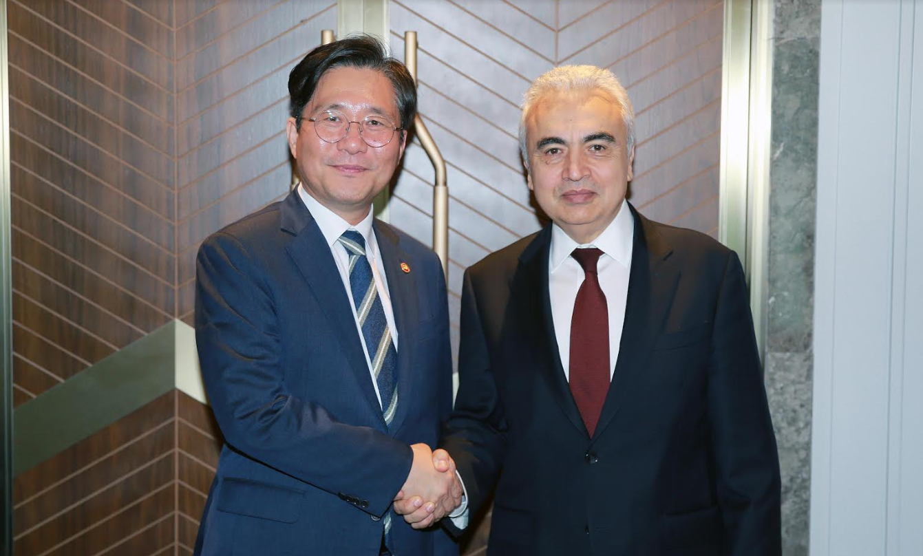 Minister Sung meets with IEA Executive Director