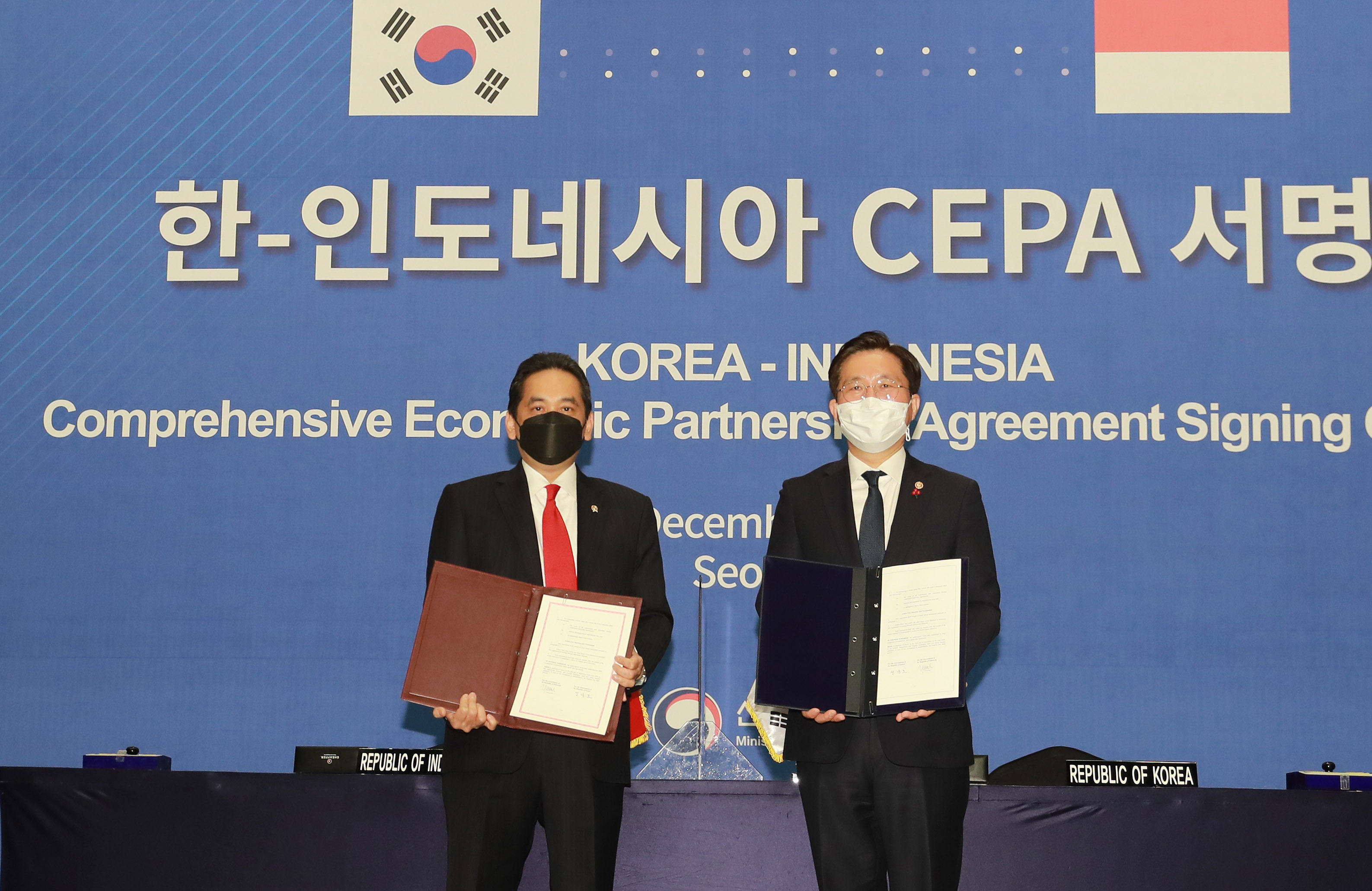 Korea, Indonesia sign CEPA