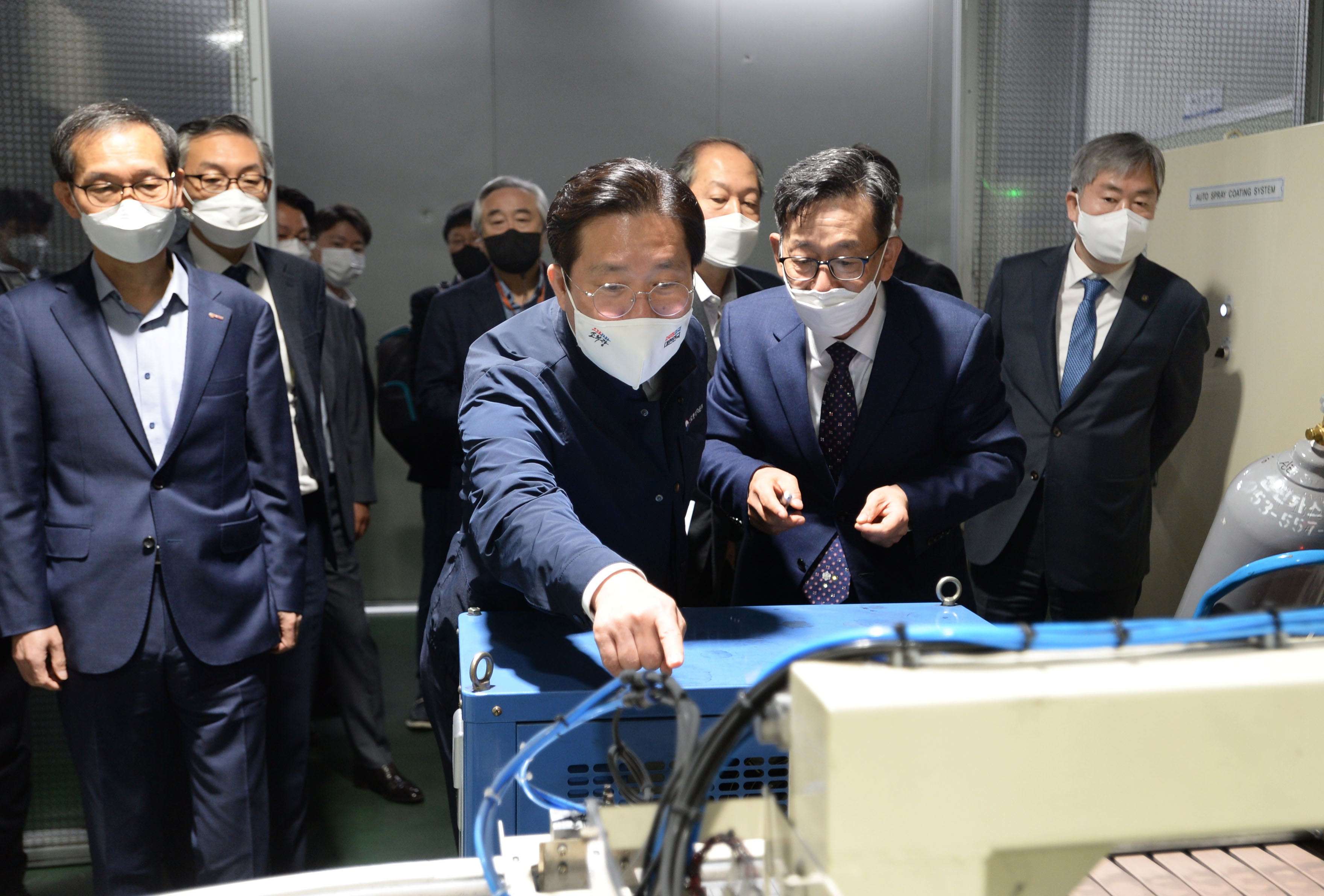 Minister Sung visits rare earth permanent magnet manufacturer in Daegu